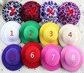 CUTE MINI HAT New Arrival in Stock!50pcs/lot 12colors 8CM Felt Mini Top Hat Fascinator base Women party Hat  DIY accessories