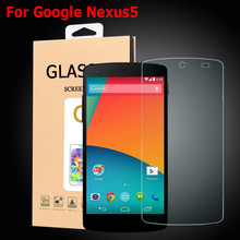 Nexus 5 Tempered Glass Premium Screen Protector for LG Google Nexus 5 E980 D820 D821 Protective Film Front Screen