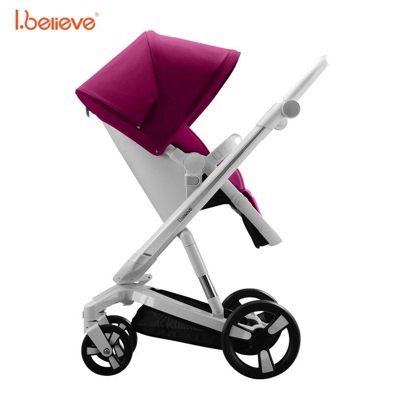 I.believe Baby Stroller I-S035A - ბავშვთა საქმიანობა და აქსესუარები - ფოტო 3