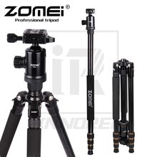 Zomei Z668 Professionele Aluminium Statief Kit Monopod Voor DSLR Camera Licht Compact Draagbare Stand Beter dan Q666