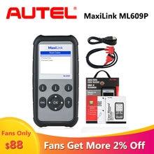 Autel AutoLink ML609P OBD scaner automotriz profesional car diagnostic scanner automotivo auto code reader diagnostic for car 100% original autel al439 autolink scanner