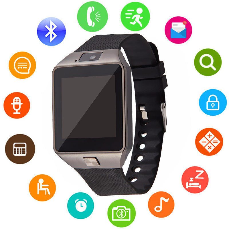 DZ09 Smart Watchs Touch Screen Support SIM TF Card With Whatsapp And Facebook Men Women Business Smartwatch For Android Phone