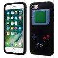 Fashion case para iphone 5 5s 6 6 s 7 7 más móvil teléfono bolsa de game boy teléfono de nuevo la cubierta de piel de silicona jelly case envío gratis