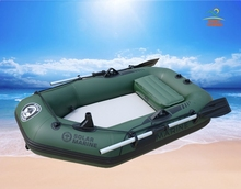 1.75M One Person Air Deck Floor High Pressure Drop Stitch Mattress Inflatable Kayak Boat Fishing Raft With Multi Air Chambers