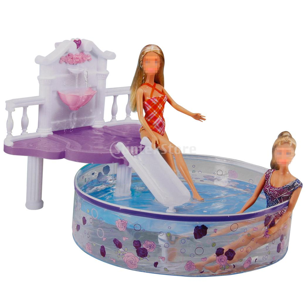 plastic dollhouse furniture sets. new arrivals plastic dollhouse furniture waterfall fantasy pool play set for dolls free shipping sets