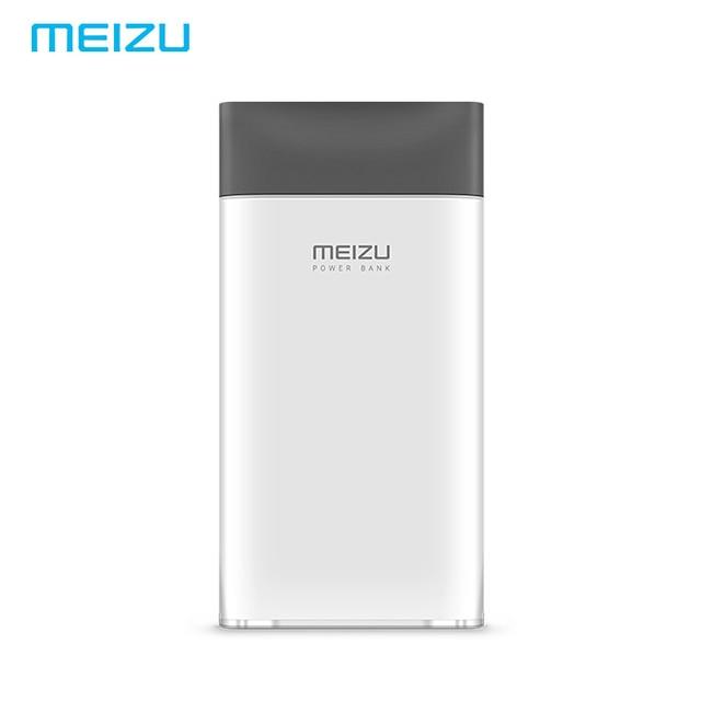 Оригинал MEIZU Мощность банк M20 10000 мАч Портативный внешний Батарея Meilan Двусторонняя Flash зарядки версия для Xiaomi iPhone Tablet PC