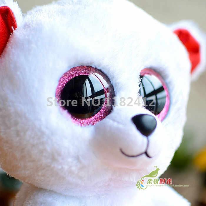 74136915ea3 ... Ty Beanie Boos Sweetikins Cuddly Pink Franky Paris Christmas Bella Bear  6   15cm Cute ...