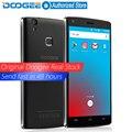 DOOGEE X5 Max pro Отпечатков Пальцев мобильные телефоны 5.0 Дюймов HD MTK6737 Android6.0 Dual SIM Quad Core 4000 мАч WCDMA LTE GPS