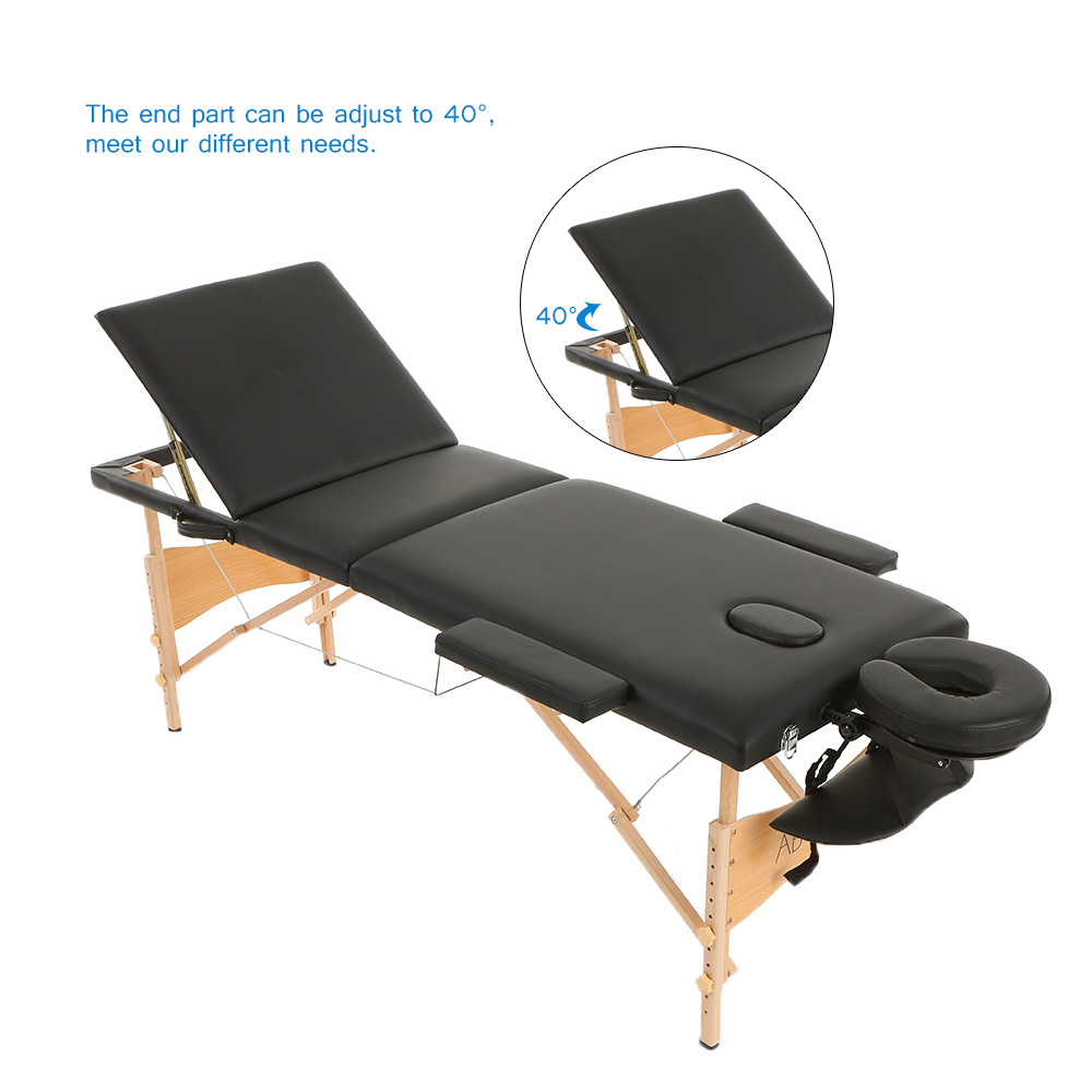 2019 portable folding massage bed adjustable spa therapy tattoo rh dhgate com