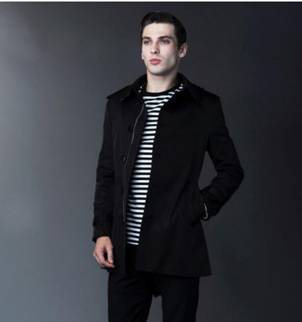Aliexpress.com : Buy 2014 New fashion Short Men&39s trench coat