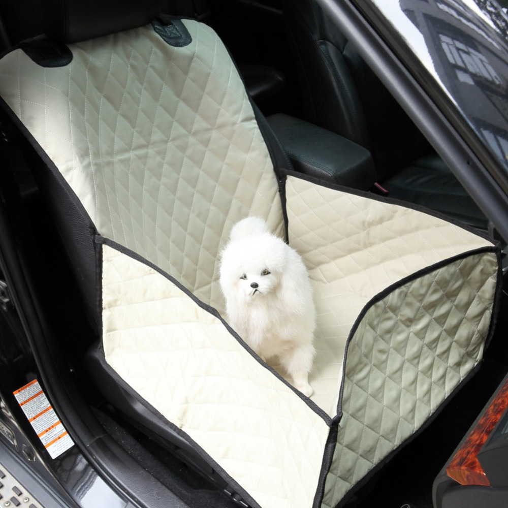 2 in 1 Pet Seat Cushion Waterproof Dog bag Pet car carrier dog carry storage bag Pet booster seat cover Carrier bucket basket