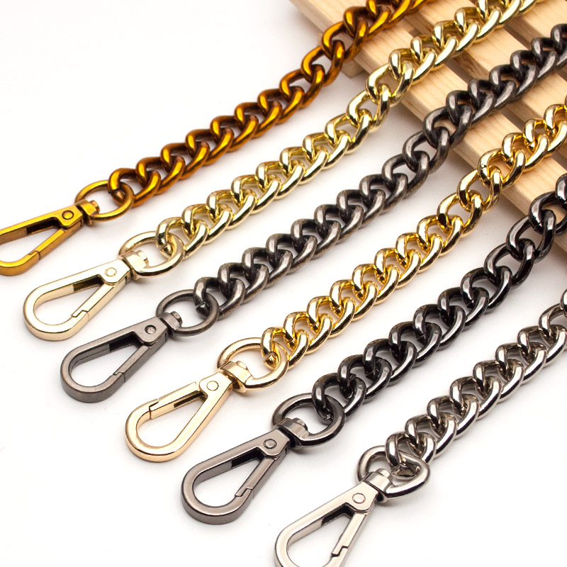 Hight Quality Bag Strap Handbag Replacement Purse Strap Bag Accessories Bag Hardware Bronze Chain Bag Parts