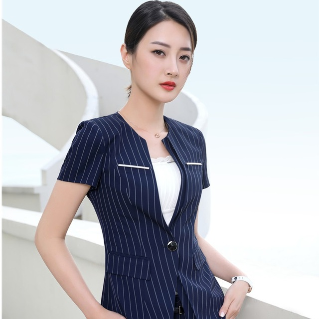 how to wear short sleeve blazer