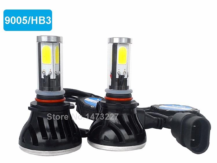 CNSUNNYLIGHT COB LED Headlight Kit H7 H11 H8 9005 HB3 9006 HB4 40W 4000LM Car Head Lamp Fog Light Replacement Bulb Play and Plug (2)