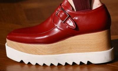 Cuir Femmes As Bottines Coins Réel forme Nude En Oxford Boucles De Taille Pic Rouge Pic as Haut Qualité Chaussures Haute Femme Casual Plate 41 616nOI