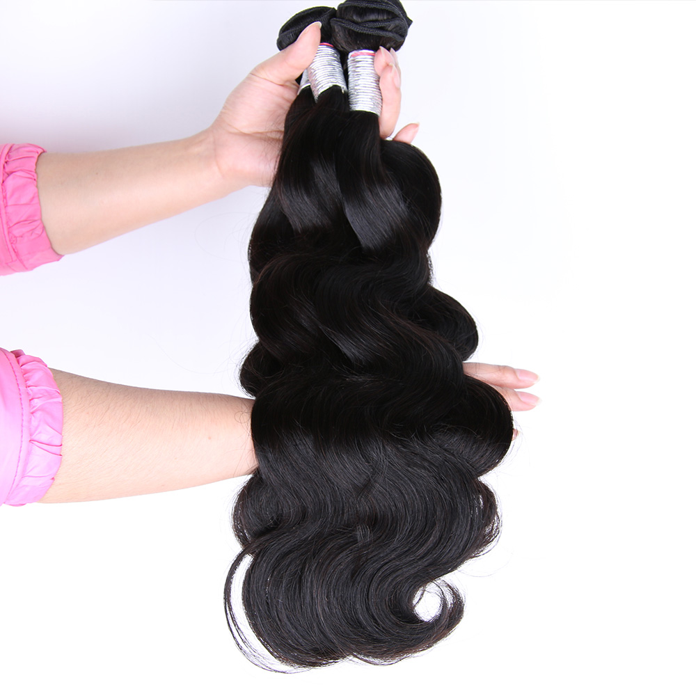 HOT BEAUTY Hair 3 Bundles Deal Peruvian Body Wave Human Hair 10 28 Inch Hair Weave