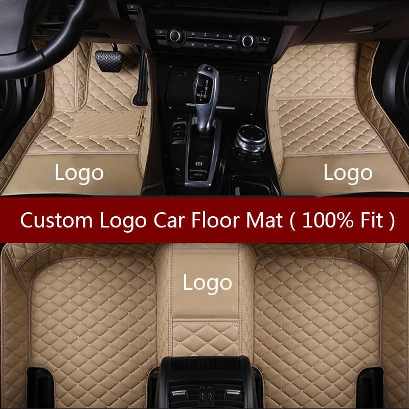 Tapis Flash Logo tapis de sol de voiture pour Alfa Romeo Stelvio 2017 2018 tampons de pied personnalisés tapis de voiture bâches de voiture