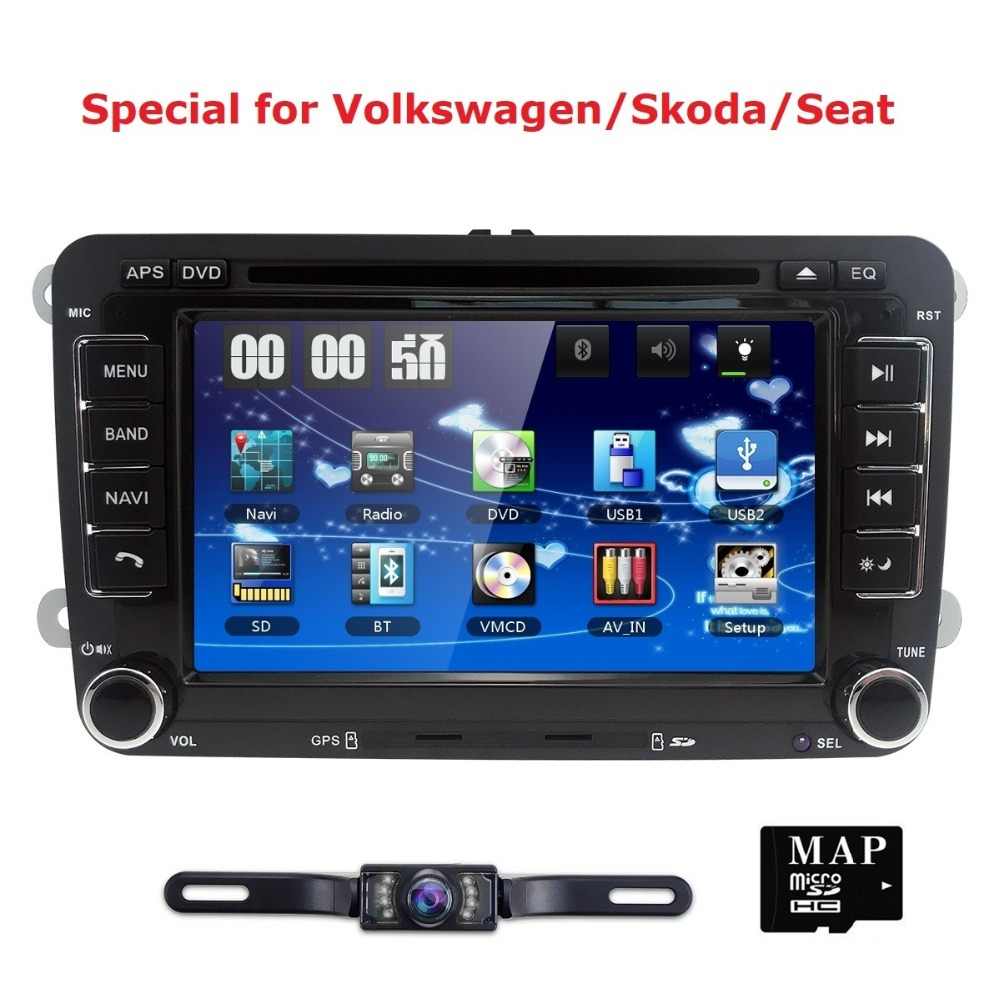 auto radio 2 din car dvd vw navigation for volkswagen golf. Black Bedroom Furniture Sets. Home Design Ideas