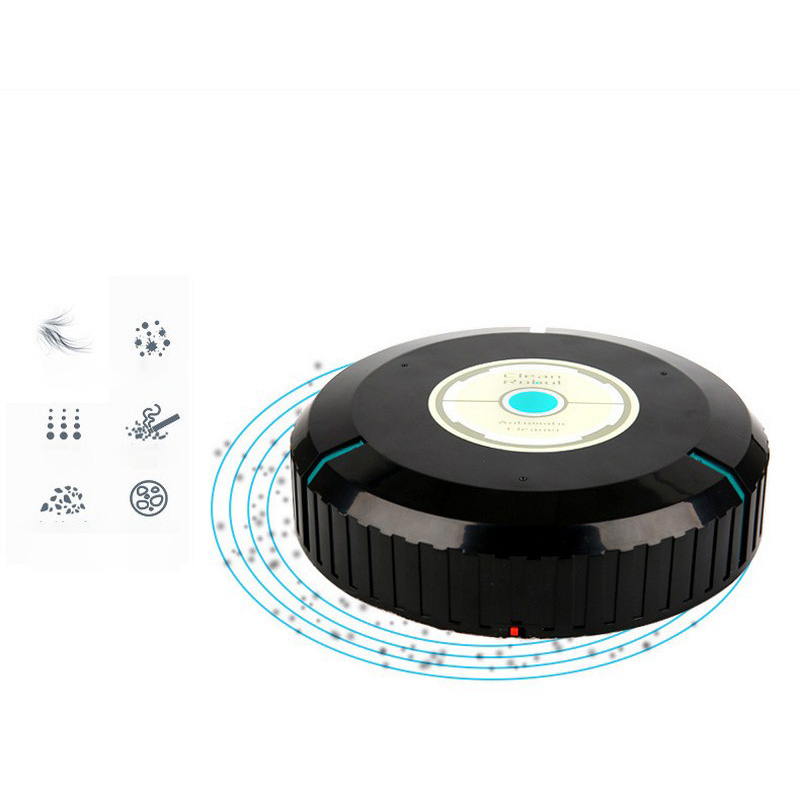 Home Auto Cleaner Robot Microfiber Smart Robotic Mop Floor Dust Sweeper Vacuum Cleaner Automatically  Household Cleaning Tool (8)