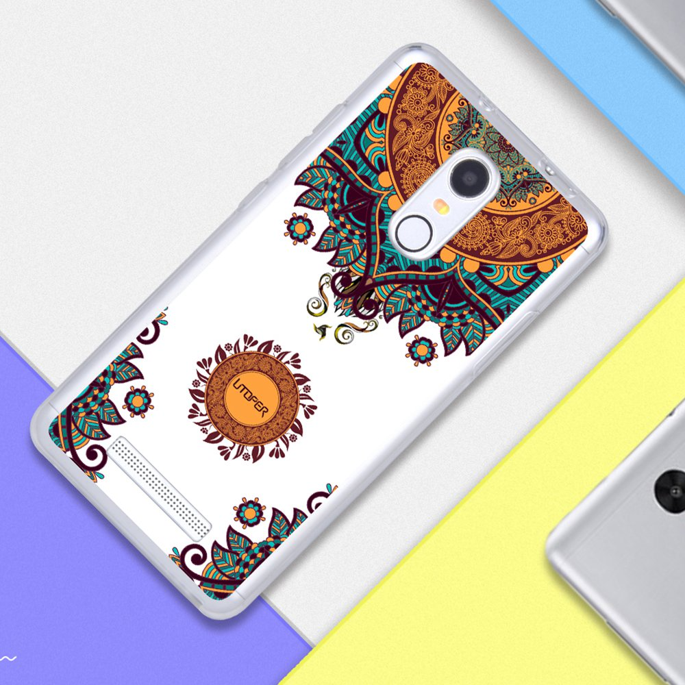 Buy For Xiaomi Redmi Note 3 Case Silicone Cute Tempered Glass Casing Handphone Softcase Transparan Cartoon Flower Brand Tpu Soft Pro Prime Phone Cover Bags From