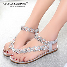 62671fa09c1 Cuculus 2019 Women Sandals Summer Style Bling Bowtie Fashion Peep Toe Jelly Shoes  Sandal Flat Shoes Woman 3 Colors 01F669