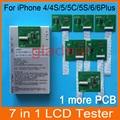 Probador lcd tablero del pwb para el iphone 4 4s 5 5c 5s 6 6 Plus Pantalla Táctil Digitalizador de Reparación de La Máquina Separador Herramienta Kit