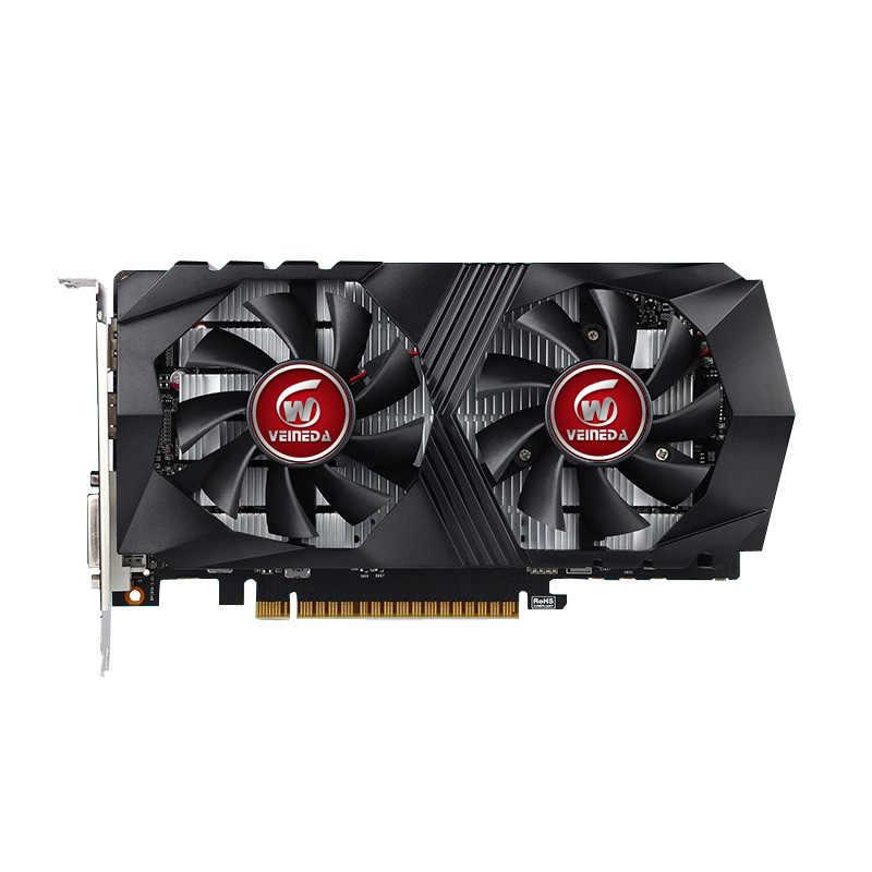 Veineda Card Đồ Họa GTX1050 2G DDR5 Chơi Game Khai Thác Mỏ Thẻ Hình Cho NVIDIA GeForce GTX HDMI DVI