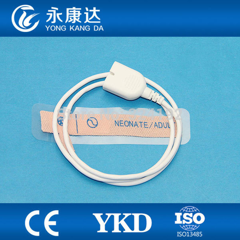 Nihon Kohden Disposable Spo2  Sensor for Adult type with non-woven, Length 1m, TPU Cable