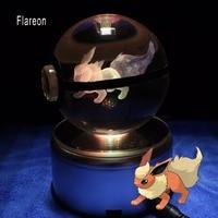 New Design Popullar Pokemon Go Gmae Flareon Anime Action Trainer Ball Gifts