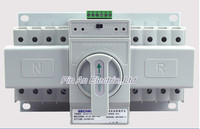 Double Power Supply Automatic Switching Double Power Switching Switch 4P 63A CB Level Three Phase Four