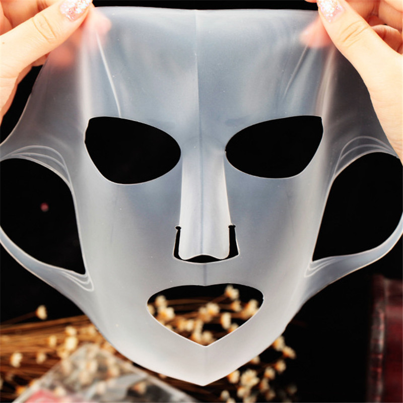Silicone Face Mask Cover Pro Reuse Prevent Essence Skin Care Waterproof Evaporation Speed Up Reusable Moisturizing Facial Tool