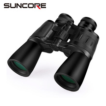 SUNCORE 10×50 hunting bird watching telescope waterproof Porro binoculars with tripod interface fully multi-coated lens