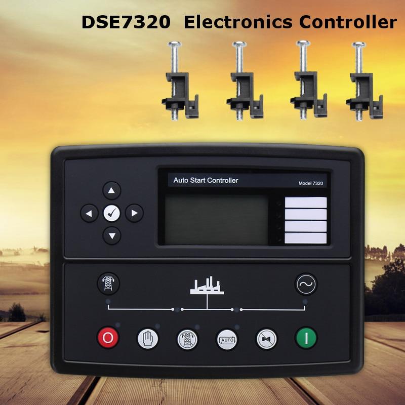 Best Deep sea controller DSE7320 Generator Genset Auto Start Control Module New Electronics Controller Control Module Panel недорого