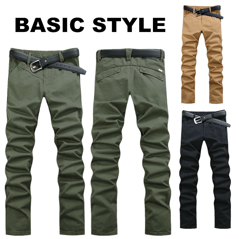 Aliexpress.com : Buy 2015 High Quality Men's Twill Pants Mens ...