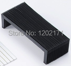 Custom made cnc machine protective bellows cover for machine tools