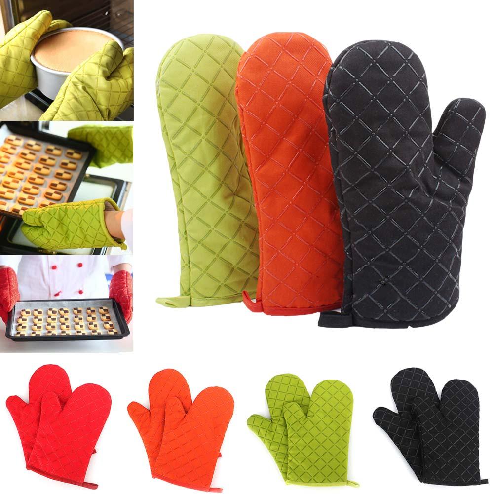 1 paar Mikrowelle Handschuhe Isolierung Silikon Topflappen Rutschfeste Küche BBQ Kochen Handschuhe Backformen Kuchenwerkzeug FP8