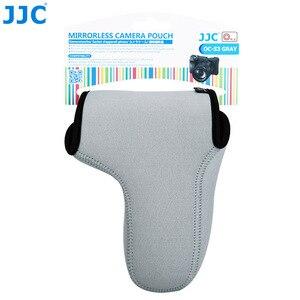 Image 5 - Jjc 미러리스 카메라 파우치 소프트 dslr 케이스 가방 소니 a6600 a6100 a6300 a6400 a6500 후지 필름 xt30 xt20 xt10 + 55 210mm 렌즈