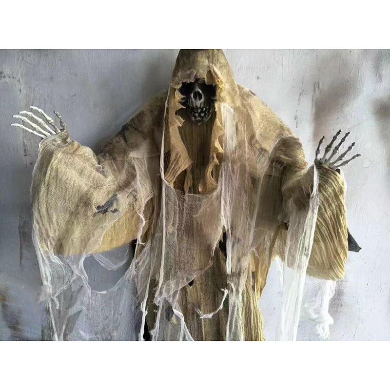 HTB1RJq4djfguuRjSspaq6yXVXXaI - 165cm Halloween Hanging Ghost Haunted House Escape Horror Halloween Decorations Terror Scary Props Theme Party Drop Ornament 1pc