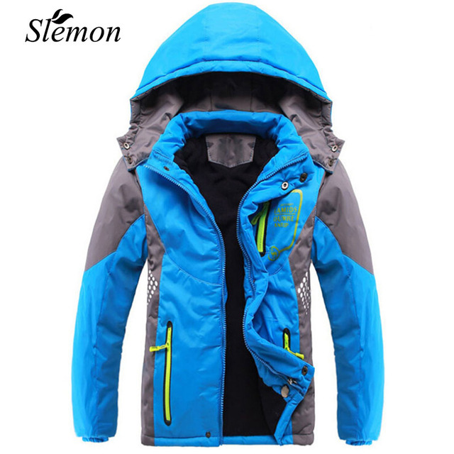 Cheap Winter 2018 Thicken Children Outerwear Warm Coat Sporty Kids Clothes Waterproof Windproof Teen Boys Girls Jackets For 3-14 Years