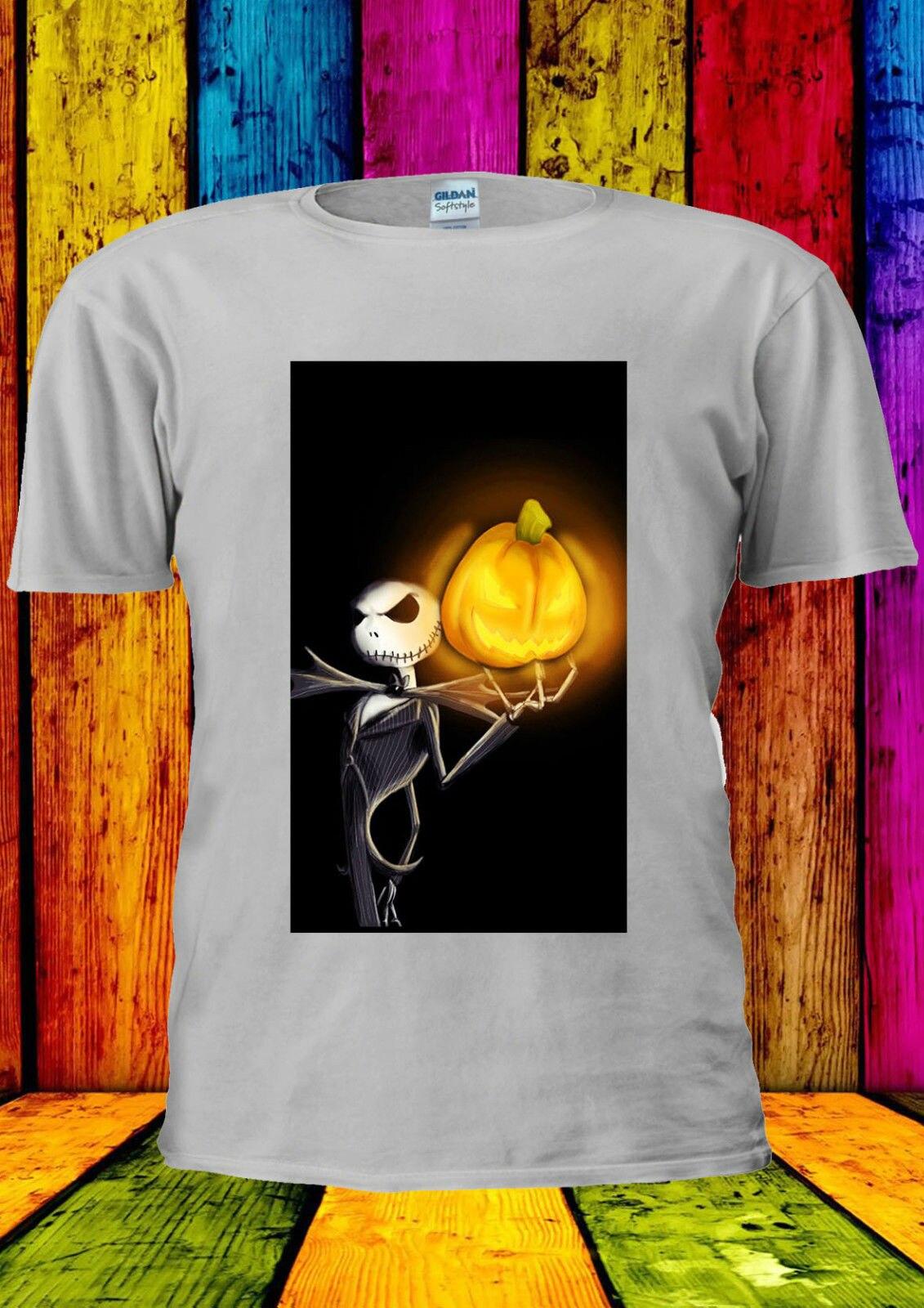 Nightmare Before Christmas Jack Fear T-shirt Vest new Top Men Women Unisex 326