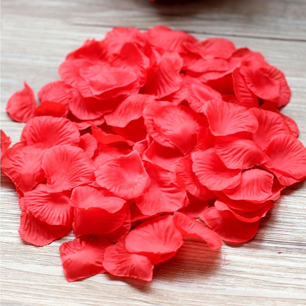 500 шт. шелк Лепестки роз для свадеб дешевые искусственные декоративные цветы девушка лепестки событие для вечеринок