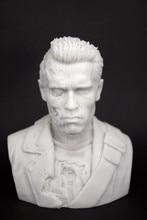 Resin Kits 1 10 Scale Scale terminator Arnold Schwarzenegger high 12cm width 10cm Figure Resin Model