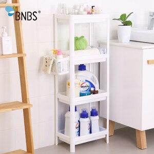 Image 1 - BNBS ห้องน้ำ Organizer ชั้นวาง Over ห้องน้ำผู้ถือชั้นวางสำหรับห้องครัวอุปกรณ์จัดเก็บชั้นวางตะกร้าเก็บอุปกรณ์เสริม