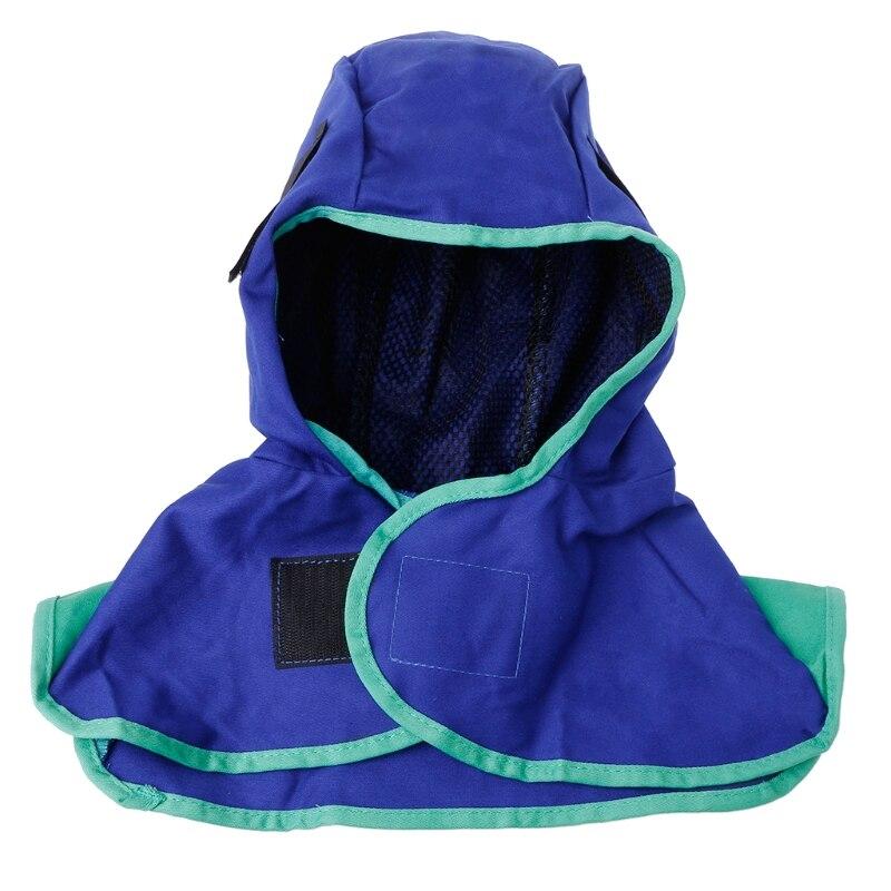 Flame Retardant Helmet Welding Neck Protective Safety Hood Welder Head Cap Cover