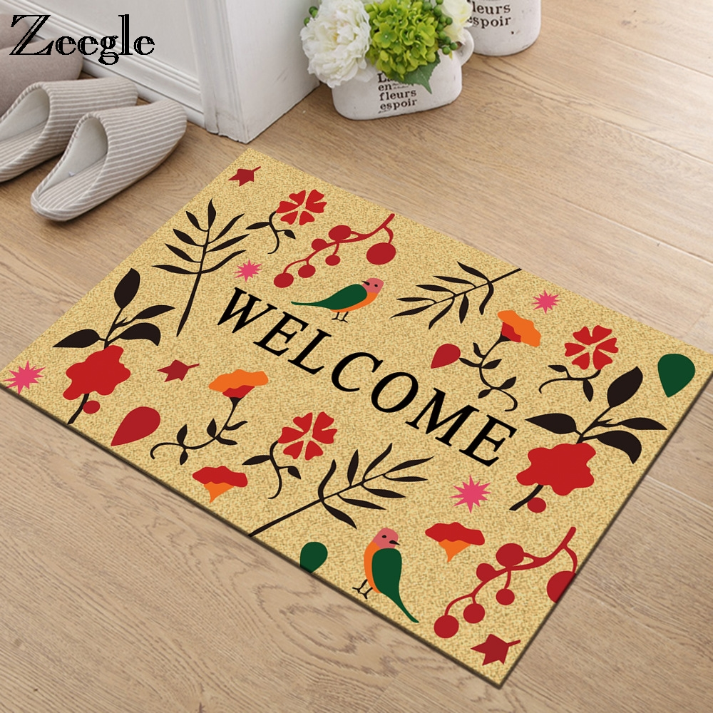 Garden Decor Nutty Rug: Zeegle Home Decor Entrance Mats Doormat Outdoor Rugs Anti