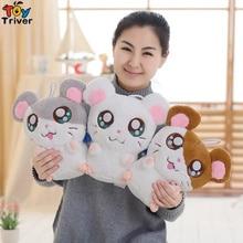 Super Meng Plush Toy Cute Big Eyes Hamster Vole Hamtaro Stuffed Doll Kids Girls Boys Birthday Christmas Gift Home Shop Decor стоимость