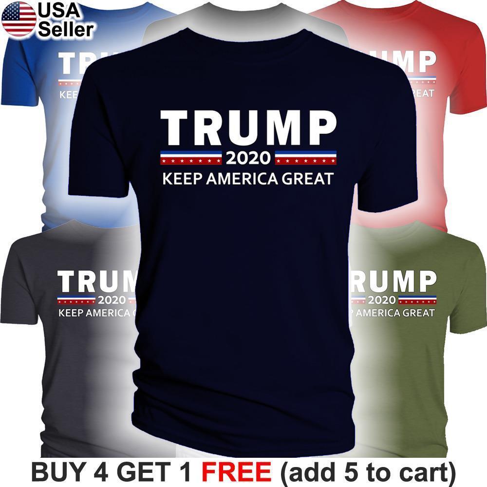 Donald Trump 2020 T-Shirt Halten Amerika Große Für Präsident MAGA Machen Wieder USA