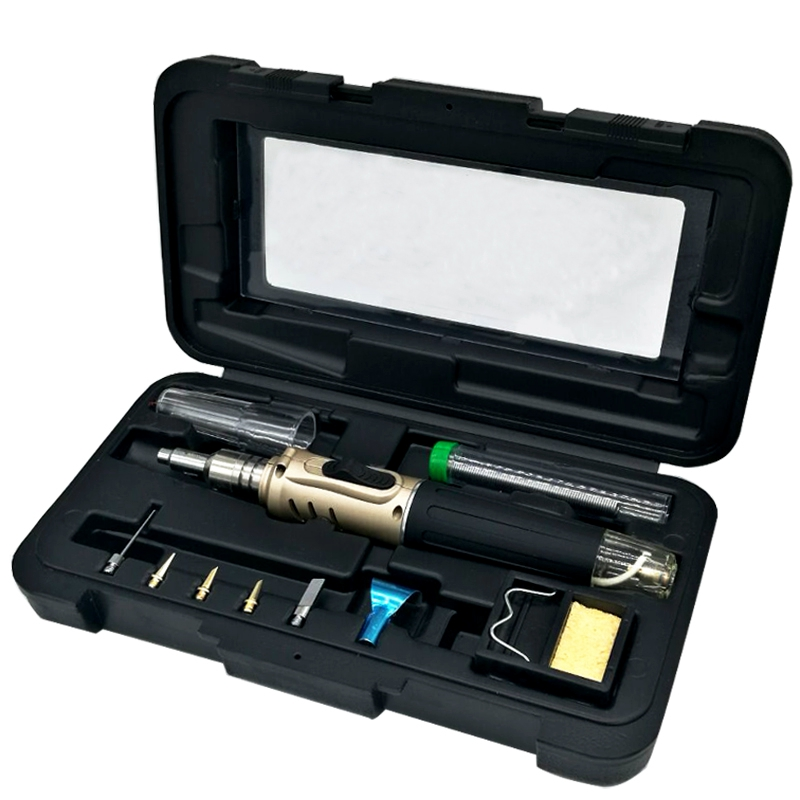Yarboly  HS-1115K Professional Butane Gas Soldering Iron Kit Welding Kit Torch