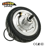 Powerful Electric Wheel Motor 9 Inch 36V 350W Brushless Hub Motor Bike Wheel Electric Scooter Motor