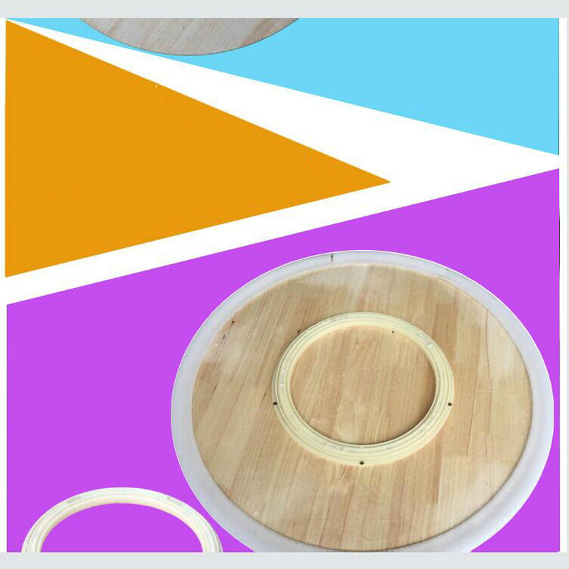 wood lazy susan dining table turntable lazy susan solid_0010